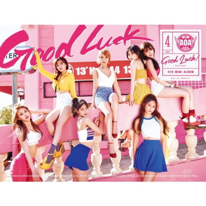 [AOA] 4th MINI ALBUM [GOOD LUCK] B ver. / WEEKEND