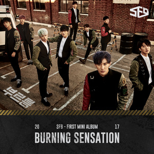 [SF9] SF9 First Mini Album [Burning Sensation]