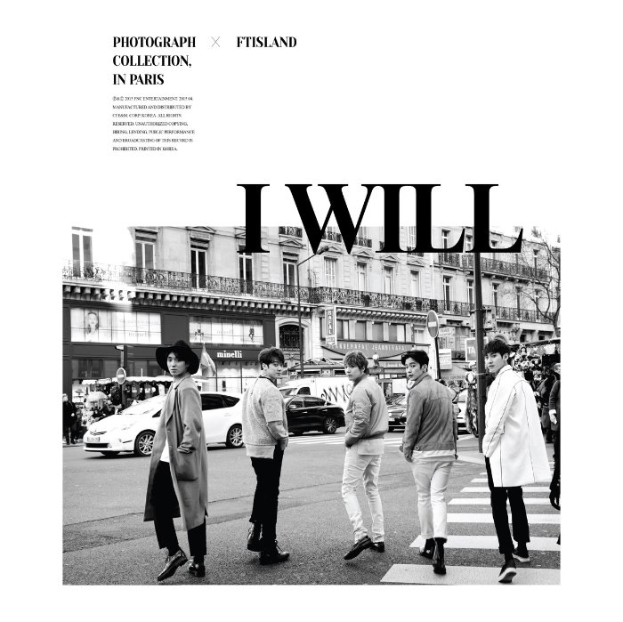[FTISLAND] FTISLAND 5TH ALBUM [I WILL] Special.ver