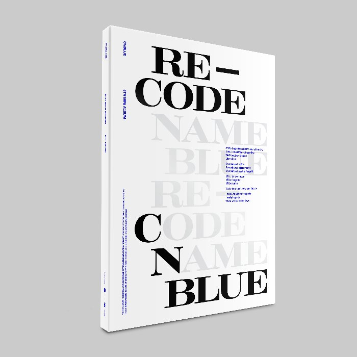 CNBLUE 8TH MINI ALBUM 'RE-CODE' Special ver.