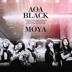 [AOA BLACK] AOA 3rd SINGLE ALBUM [MOYA]